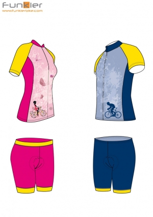 funkier bike clothing