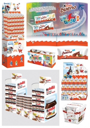 kinder joy nutella